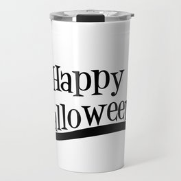 Happy Holloween Owl Travel Mug