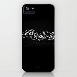 Los Anarchy iPhone Case