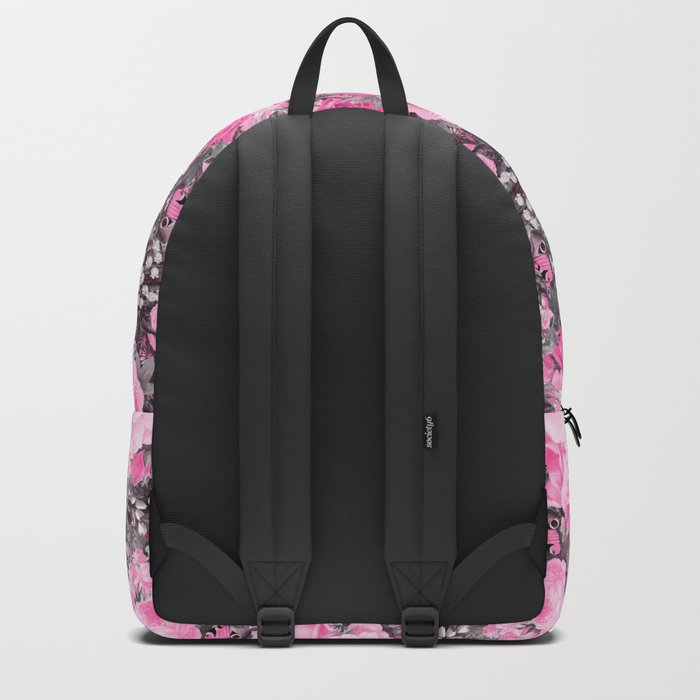 Floral pink vintage pattern Backpack