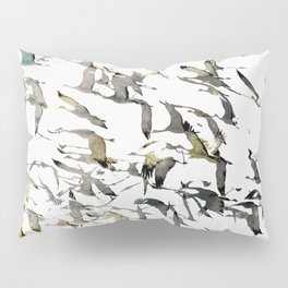 CRANES Pillow Sham