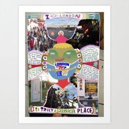 I ♡ London Art Print