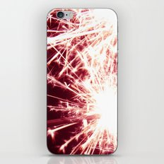 Pink Summer Sparkler iPhone & iPod Skin