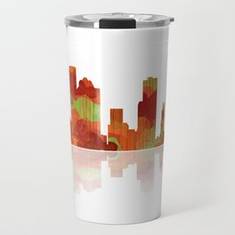 Houston Texas Skyline Travel Mug