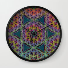 The Flower of Life (Sacred Geometry) 5 Wall Clock