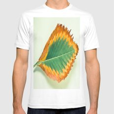 Transition White Mens Fitted Tee MEDIUM