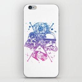 StarWars Dark Side -Blue To Pink Palette iPhone Skin