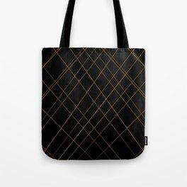 golden lines Tote Bag