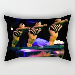 Divin' In Rectangular Pillow