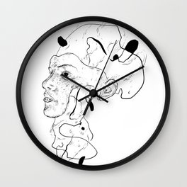 """Lets just say """"it's complicated"""" Wall Clock"""