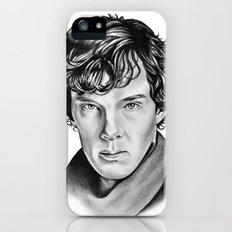 Sherlock iPhone (5, 5s) Slim Case
