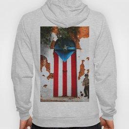 PUERTO RICO FLAG DOOR Hoody