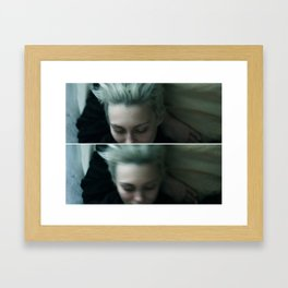 Bed Blur Framed Art Print