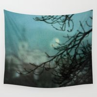 silent Wall Tapestries featuring Silent Night by Bella Blue Photography