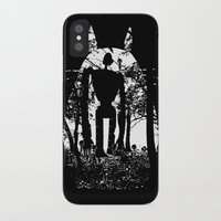 miyazaki iPhone & iPod Cases featuring Miyazaki Forest by kamonkey