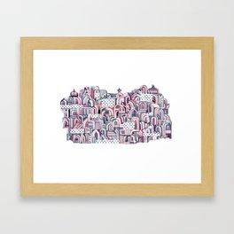 Maroon Castle Framed Art Print