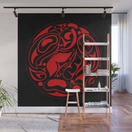 Abstract Indigenous Ornament Wall Mural