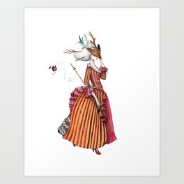 French warrior Art Print