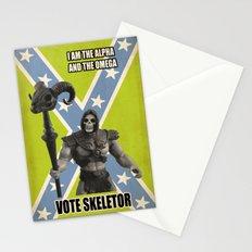 Vote Skeletor Stationery Cards