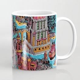 Mumbo Jumbo City (Color) Coffee Mug