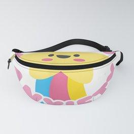 cute kawaii goth kawaii present pastel goth stress and anxiety tee tee Fanny Pack