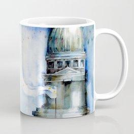 Portrait with Buildings. Coffee Mug