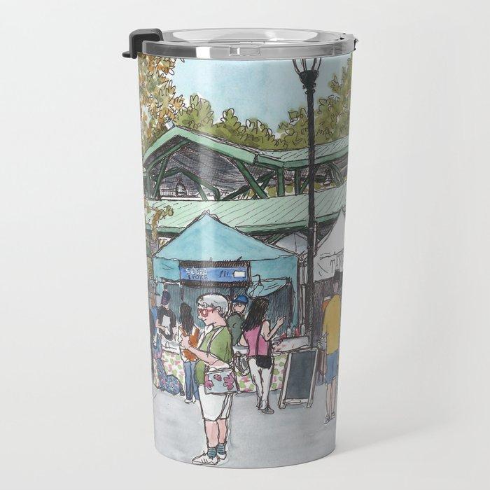 Davis Farmers Market Travel Mug