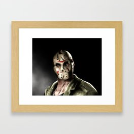 Jason Friday the 13th Framed Art Print