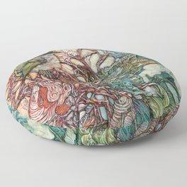 The Kinglet's Quarters Floor Pillow