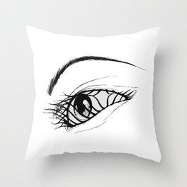 Aeon Flux Throw Pillow