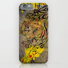 Chinese Lunar New Year and 12 animals ❤ The TIGER 虎 iPhone 6s Slim Case
