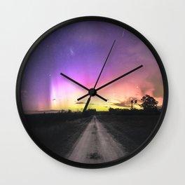 Aurora Australis, Drouin - Australia Wall Clock