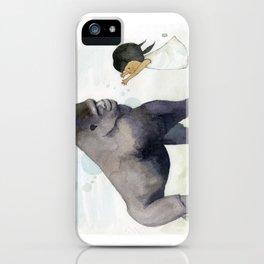 Hug me , Mr. Gorilla iPhone Case