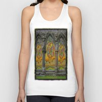 doors Tank Tops featuring Doors by Nicholas Bremner - Autotelic Art