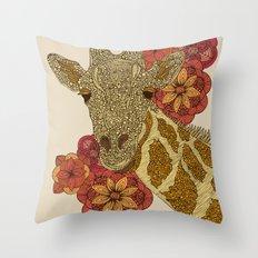 The Giraffe Throw Pillow