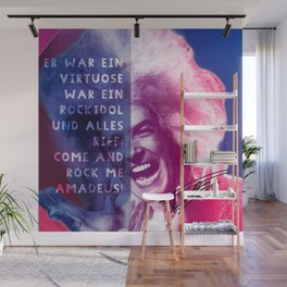 Rock Me Amadeus Wall Mural