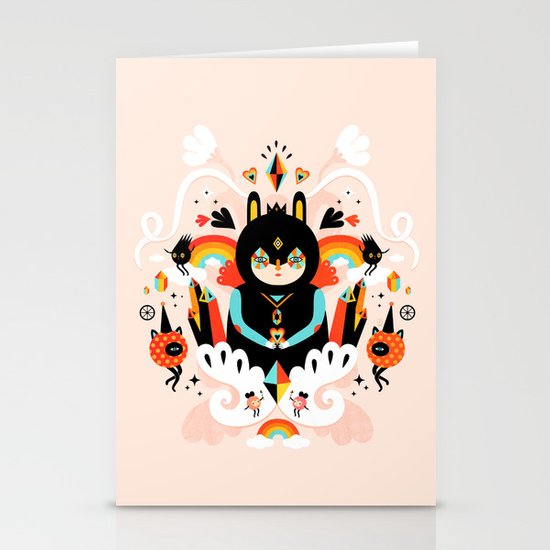 Rainbow Queen Stationery Cards