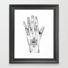 Alchemist Hand 2011 Framed Art Print