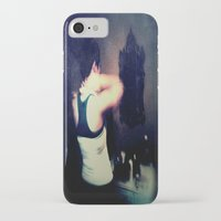 gray iPhone & iPod Cases featuring Gray by Brookita