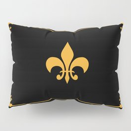 Gold And Black Pillow Sham