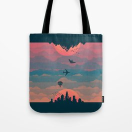 Sunrise / Sunset (alternate) Tote Bag