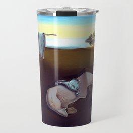 Salvador Dali The Persistence of Memory 1931 Artwork, Wall Art, Prints, Posters, Tshirts, Men, Women Travel Mug