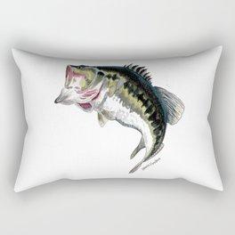 Mr Bass Rectangular Pillow