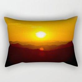 Arizona Sunset Rectangular Pillow