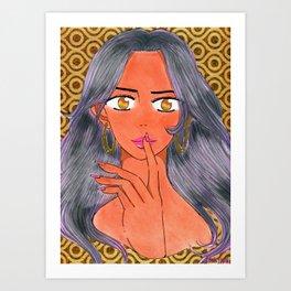 Aiesha Tonie's 1st Investigation Art Print