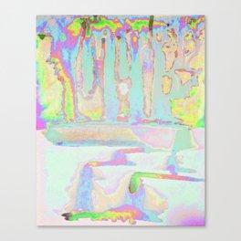Rainbow Rain, Spring Showers Canvas Print