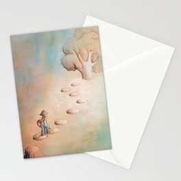 Climbing a Tree Stationery Cards