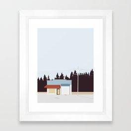 KRIMINALSAGER Framed Art Print