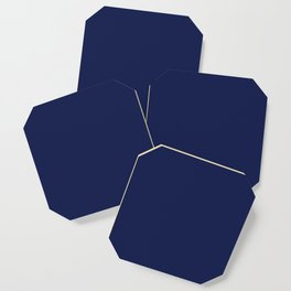 Solid Navy blue Coaster