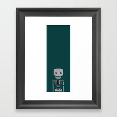 The athlete Framed Art Print