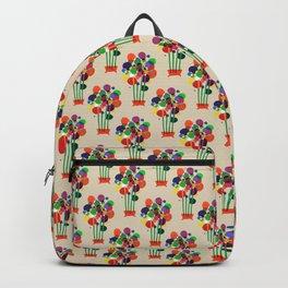 Happy flowers in the vase Backpack